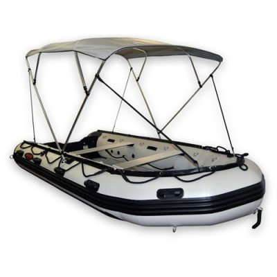 12 – Size E Bimini Top for 16-20ft Boats, 4 Bow Style, Width 77″