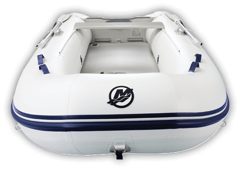 AIRDECK BOAT FRONTVIEW