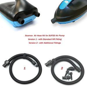 Nylon Air Hose Kit for Seamax 20PSI SUP Electric Air Pump – 2 Version
