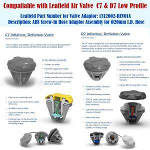 Nylon Air Hose Kit for Seamax SUP20S/D Electric Air Pump