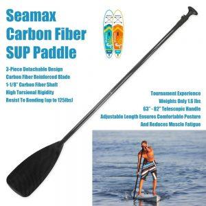 Carbon Fiber Adjustable SUP Paddle