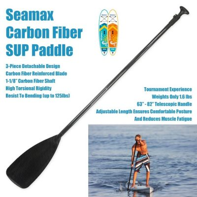 Seamax SUP Carbon Paddle